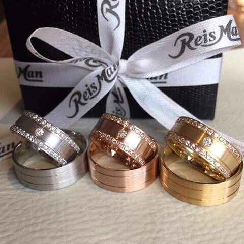 Prata, rosé e ouro