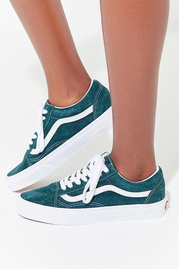 Slide View: 2: Vans Old Skool Wildleder Sneaker PINTER