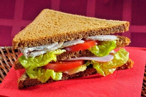 сэндвич в сэндвичнице рецепт с фото