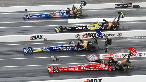 top fuel dragsters -