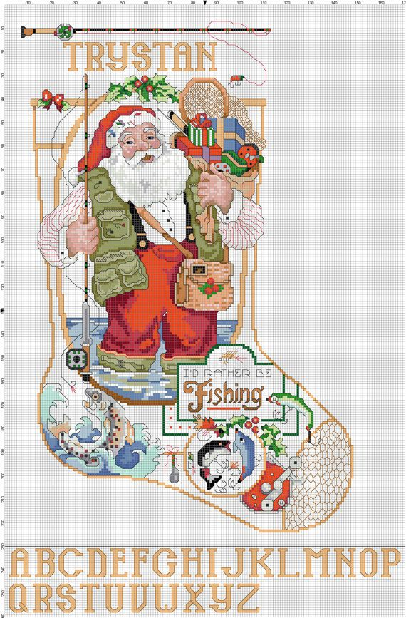 Hey, I found this really awesome Etsy listing at http://www.etsy.com/listing/150362957/id-rather-be-fishing-santa-stocking