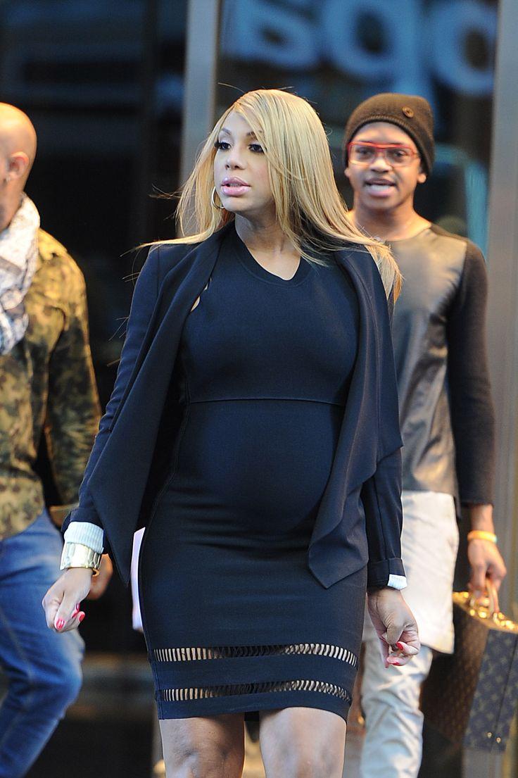 Go Head Girl! Tamar  Her Baby Braxton Bump Take New York City By Storm