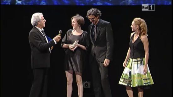 Le Maschere: Simona D'Amico premiata per scenografia e costumi