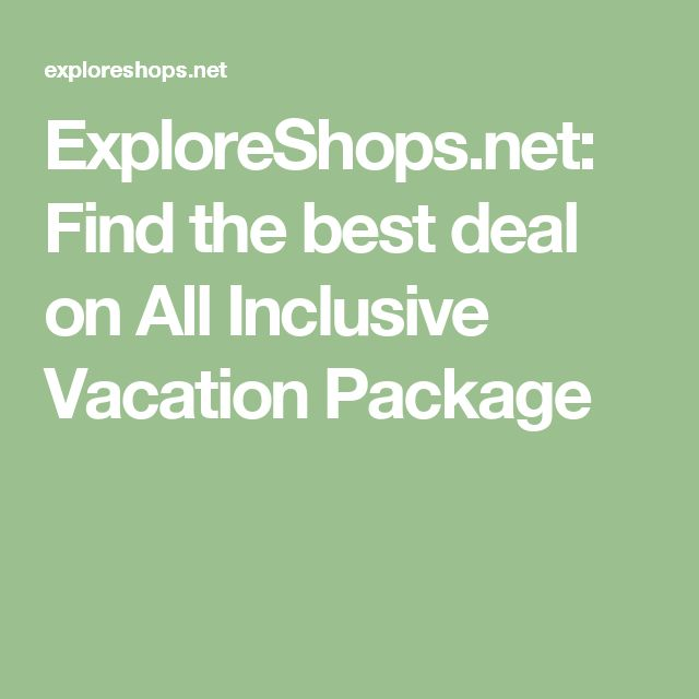17 Best Ideas About Vacation Packages On Pinterest Best