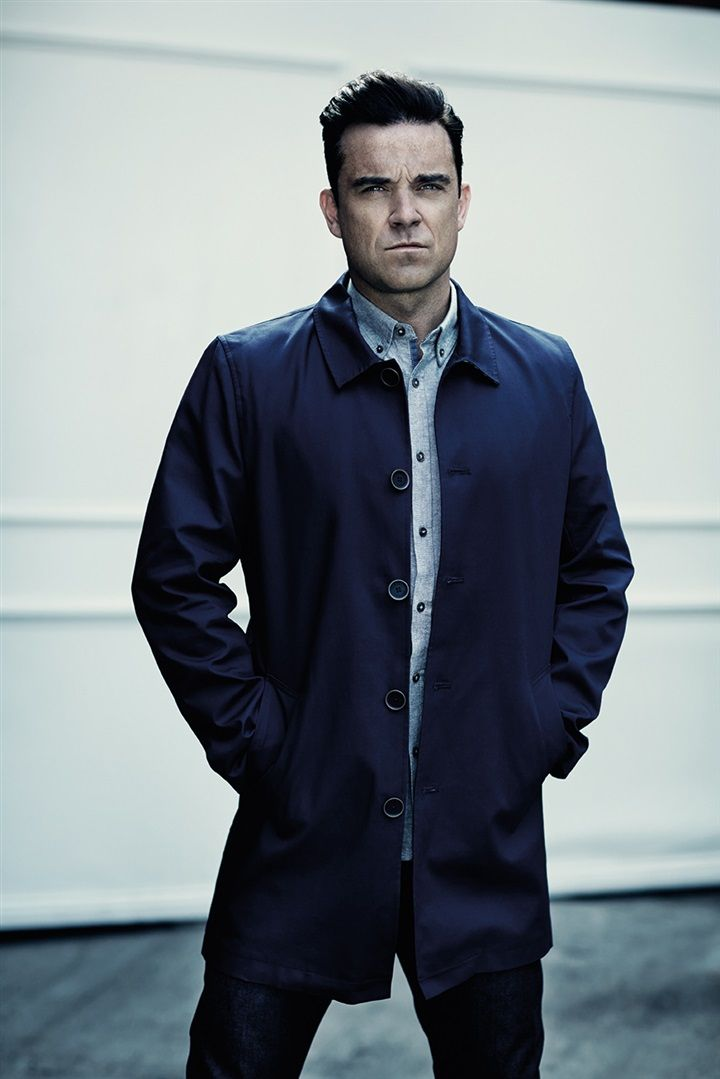 Singer Robbie Williams is behind menswear label Farrell UK.