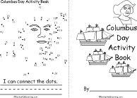 Christopher Columbus Activity Book, A Printable Book - EnchantedLearning.com
