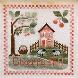 """""""Cherry Hill"""" by Country Cottage Needleworks"""