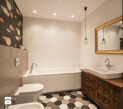Łazienka styl Eklektyczny - zdjęcie od Qbik Design