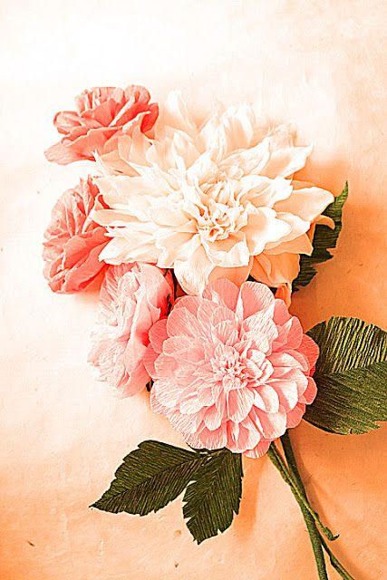 Paper Flowers more pictures | Paper Flowers Handmade Tutorials DIY