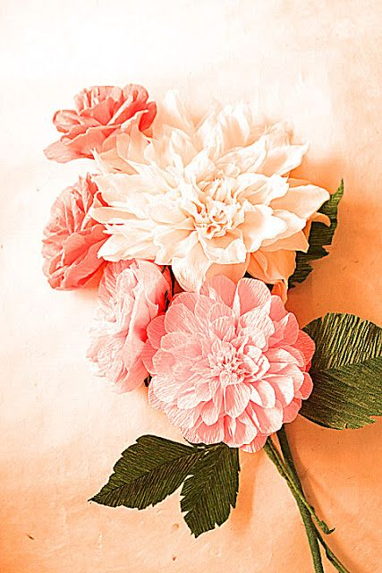 Paper Flowers more pictures | Paper Flowers Handmade Tutorials DIY