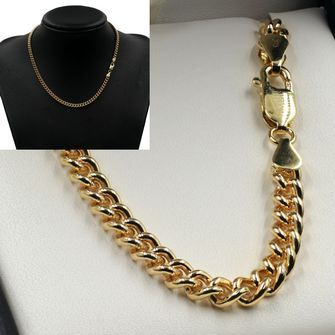 9ct Gold Round Curb Chain - MM-CUR-0016