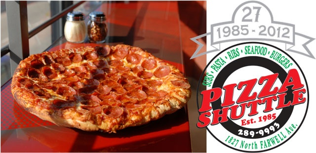 Pizza Shuttle !