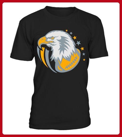 american football eagle cartoon face Kids Shirts - Foto shirts (*Partner-Link)