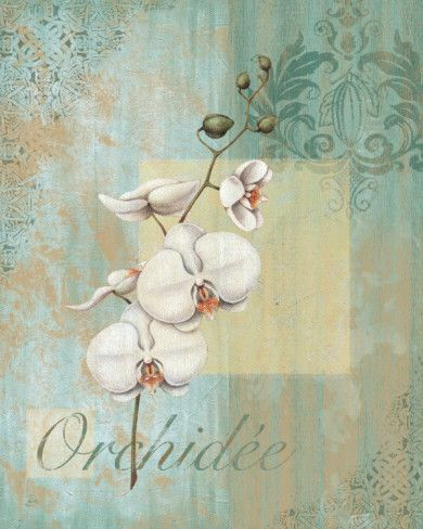 Valse Bleue I Art Print