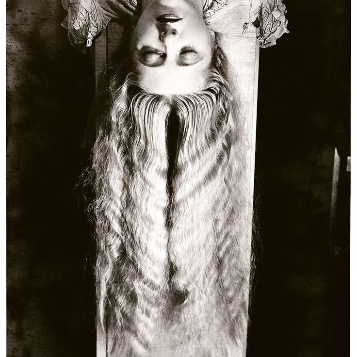 Woman with long hair 1929 Man Ray inspiration #HERSE #ManRay #art #revitalized #silkscarf #collection17