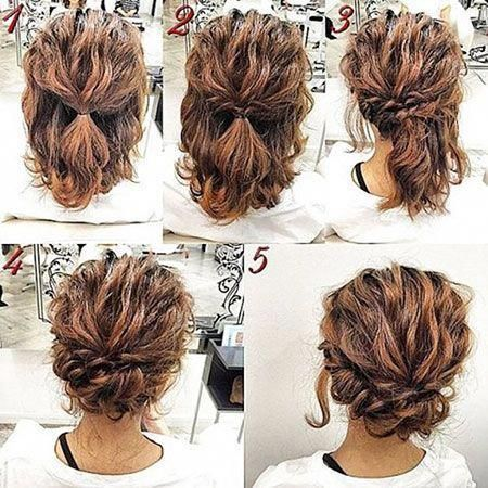 Haircuts for Short Curly Hair, Hair Hairtyles Curly Updos, Bob Hair, Curly Hair Hairtyles Bob...