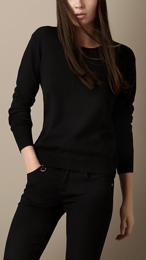Best 25  Black cashmere sweater ideas on Pinterest | Silvester ...