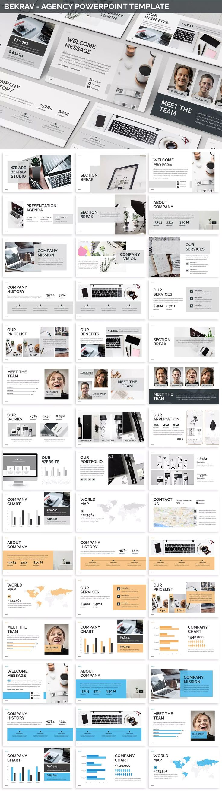 Agency PowerPoint Template