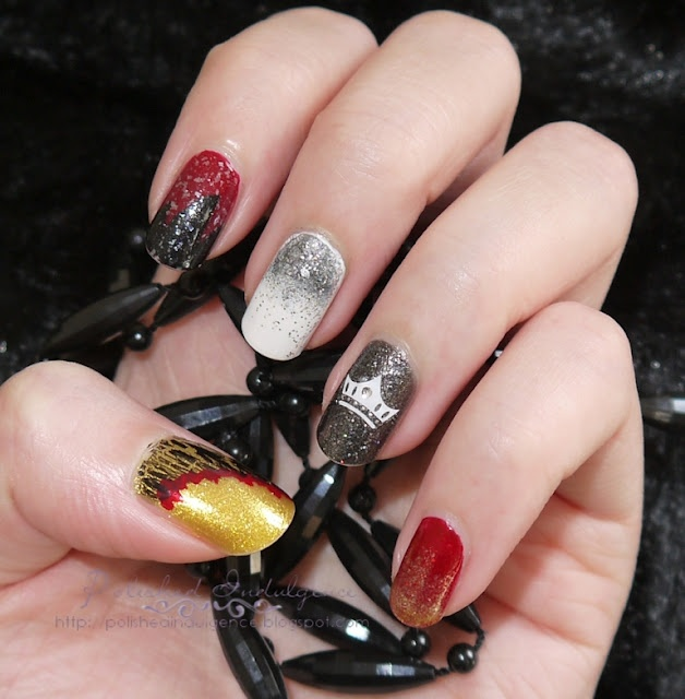 53 best nail art images on pinterest belle nails cute nails and nail art inspired by game of thrones prinsesfo Gallery