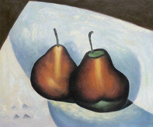 Georgia O'Keeffe. Two Pears