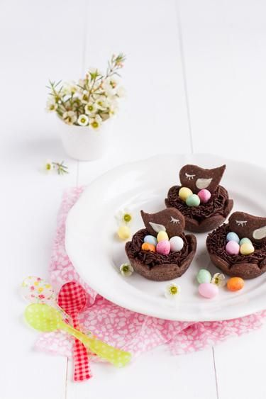 Easter treat - DIY chocolate tart