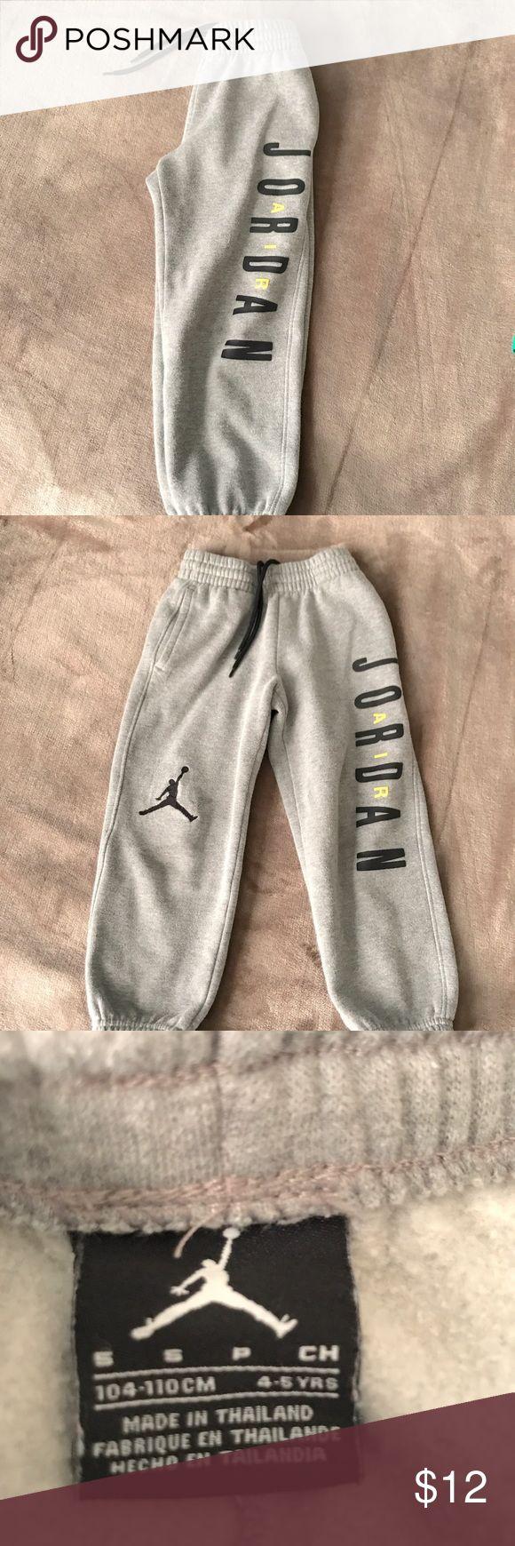 Air Jordan sweats EUC ~ Air Jordan sweats with o keys and drawstring waist ~ size small 4-5y Air Jordan Bottoms Sweatpants & Joggers