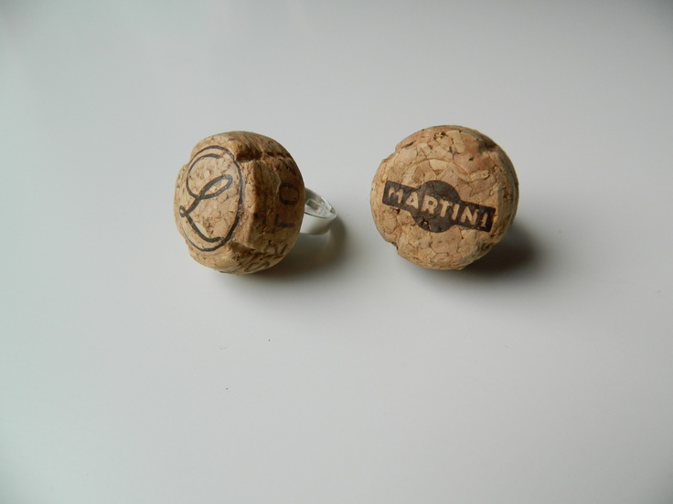 Champaign corks rings