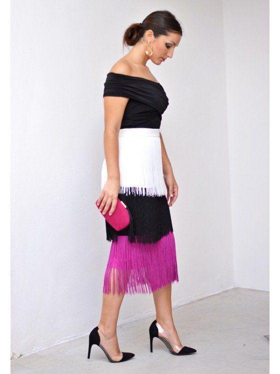 ce85f2a76 Tienda online de vestidos de fiesta, falda de flecos, falda de ...