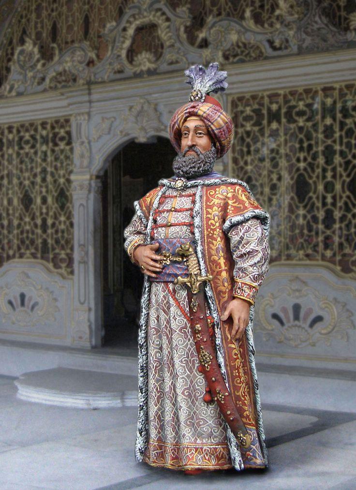 Сулейман, султан Турции. 1494-1566.   CS11, М1:30 (54 мм).