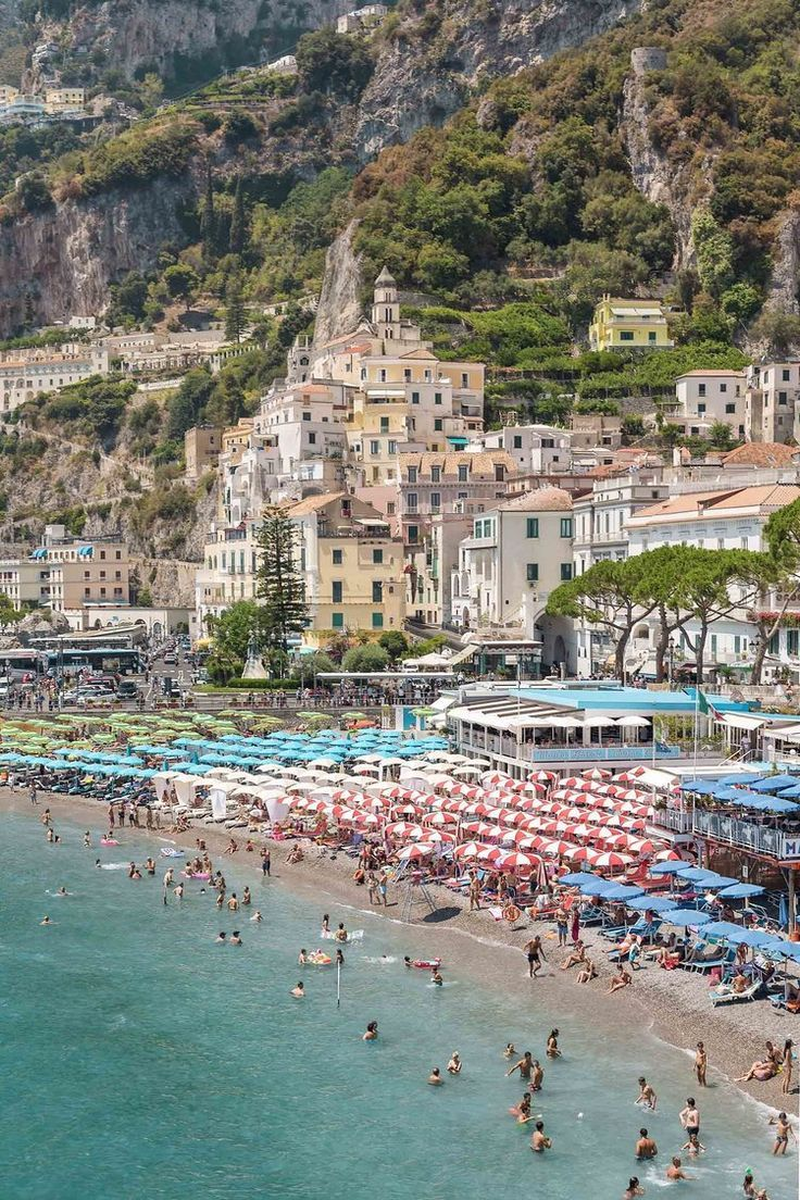 Amalfi Coast Italy Map & Top Towns to Visit in 2018
