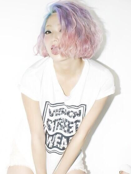 69 best Pastel hair Soft grunge♥♥ images on Pinterest