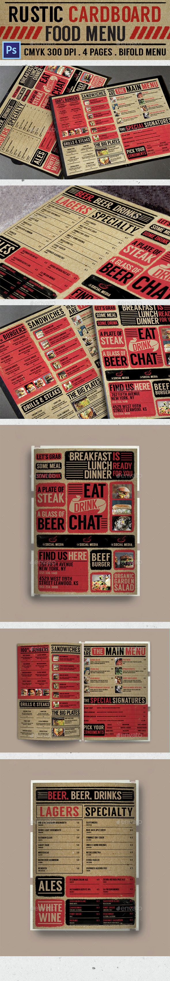 26 best bar images on pinterest drink menu food menu template and