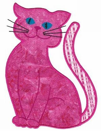 Cute Cat Applique Set at OPW