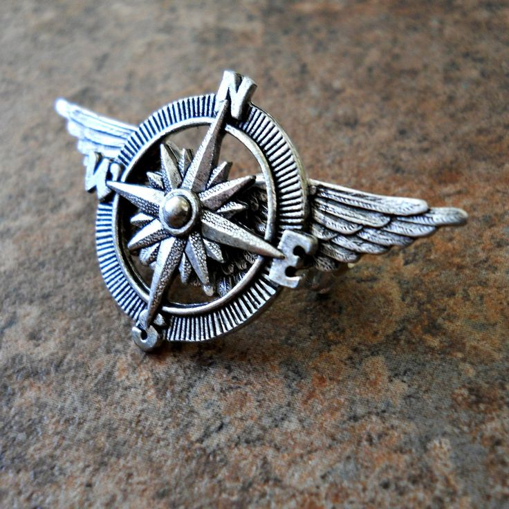 The ORIGINAL Victoriana Steampunk Airship Captain Lapel Pin Exclusive Design by Enchanted Lockets Only, Unisex Styling.