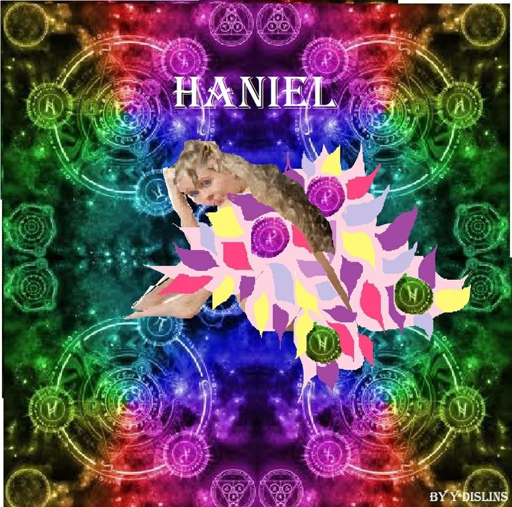 Harmony Studio: Archangel Haniel Now Finished, Come and See!!