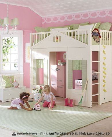 15 Coolest Playhouse Beds for Kids - I could see some little Carter and Ridley kids loving this!