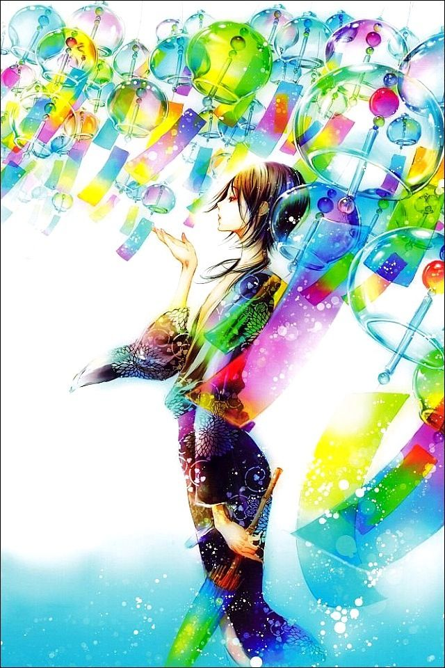 It's my favourite character from one of my new mangas... Shiro from Adekan~! :3