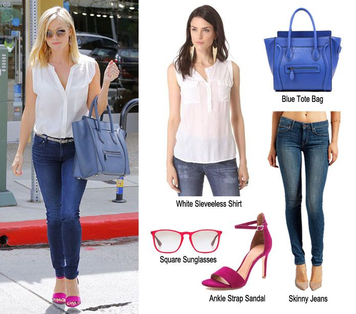 Reese Whiterspoon street fashionista looks