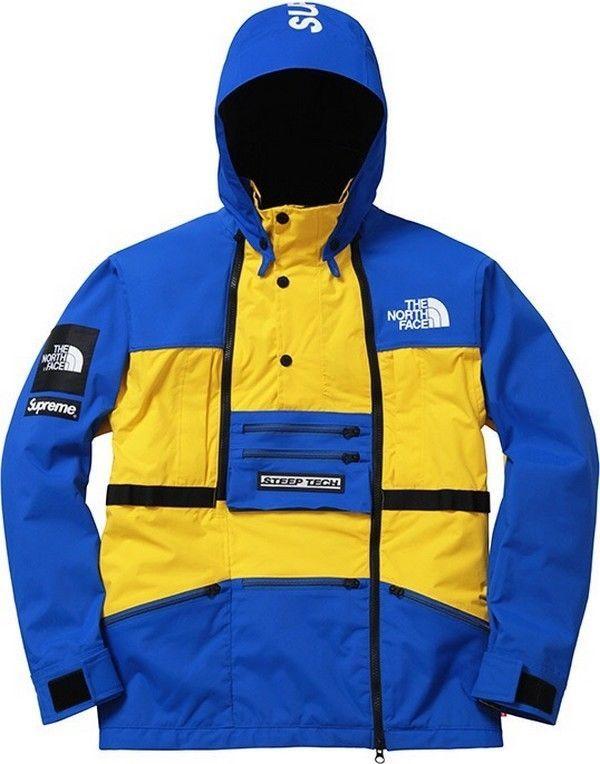 a66ec6a6 SUPREME x The North Face Steep Tech Hooded Jacket Royal M box logo camp S/S  16 | eBay | urban soldier ninja | Hooded jacket, Box logo, Jackets