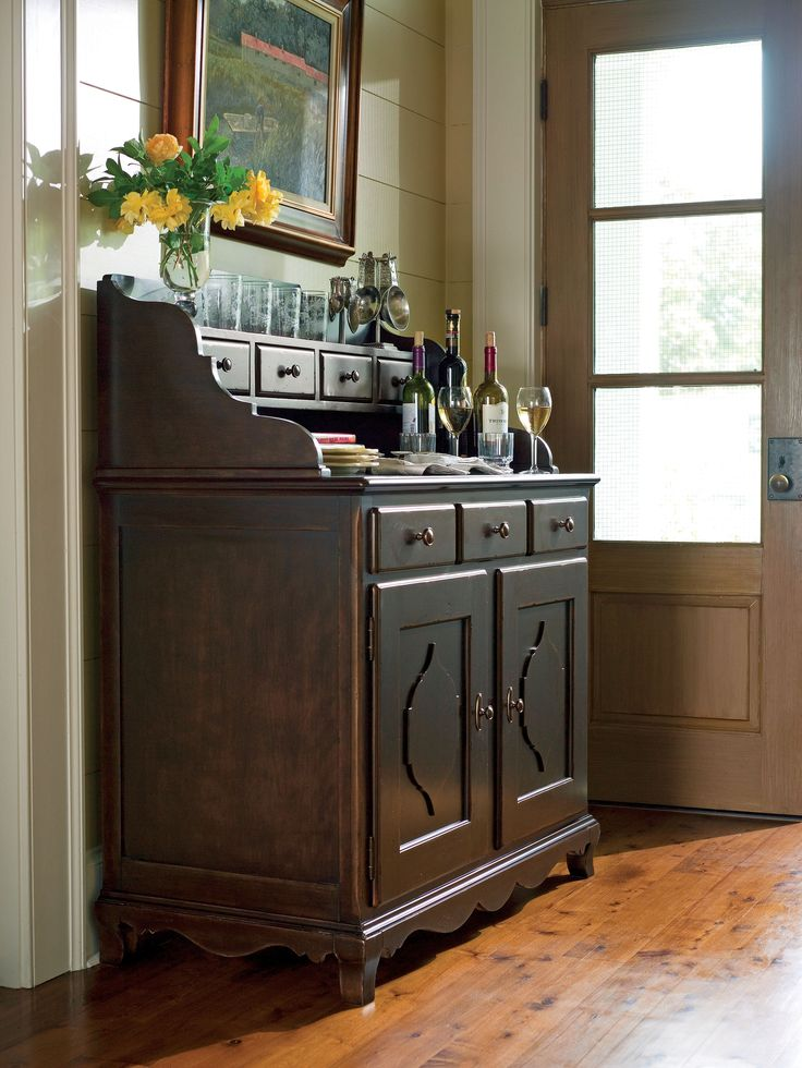 Paula Deen Home Collection Captain Mikes Bar In A Tobacco Finish