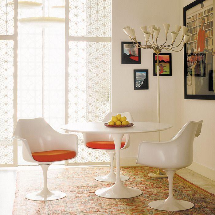 Стол, стул и кресло «Тюльпан» (Tulip ), 1953-58 г.г.