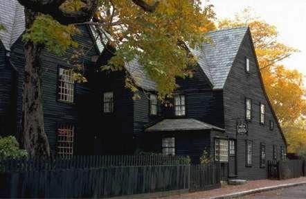 house of seven gables, salem, ma, built 1668 (inspiration for nathaniel hawthorne's novel of1851)