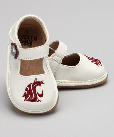 WSU... Must have!: States Girls, Little Girls, Mary Jane Shoes, White Washington, Washington States, Girls Mary, Baby Girls, Squeaky Shoes, Sisters Kids