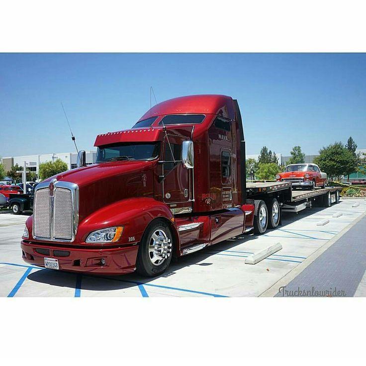 Kenworth Custom T660 Big Trucks Kenworth Trucks Trucks