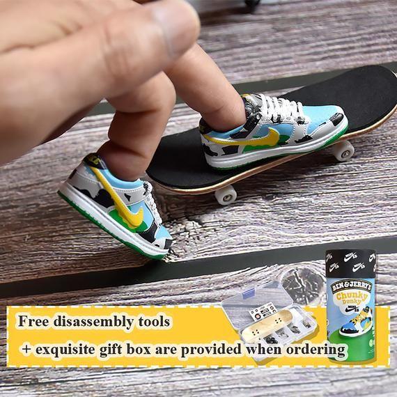 DIY Finger Skateboard Set3d Mini Shoe Mold Finger | Etsy | Finger ...