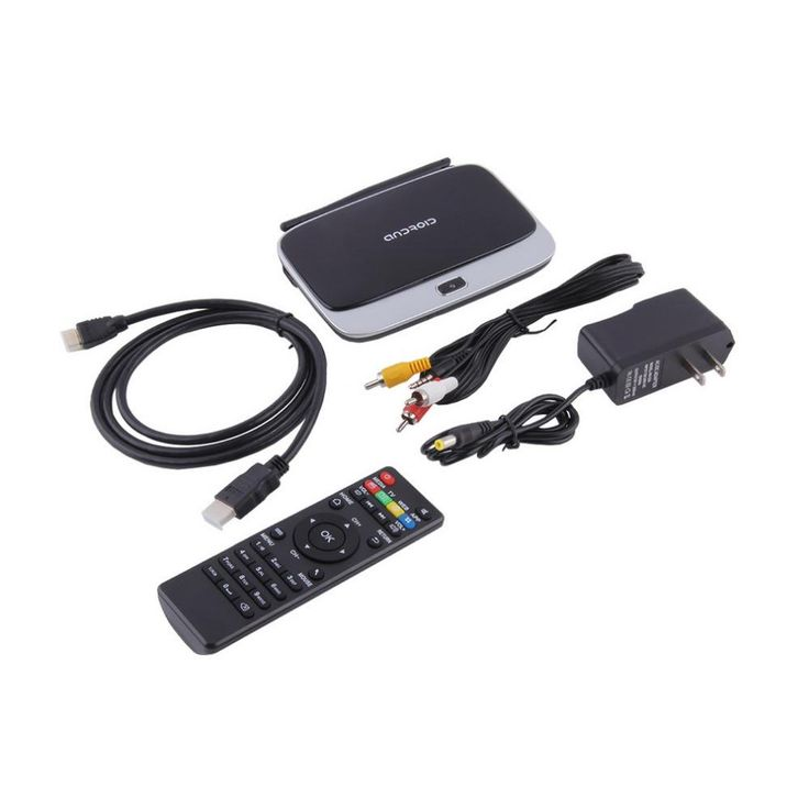 CS918S Andriod 4.4 Smart TV Box Quad Core 2GB RAM 16GB ROM Built in Bluetooth 3G 4K WIFI. Package: YesBrand Name: OXAModel Number: Android 4.4 TV BOXRemote Control: IncludedCPU: Rockchip 3188T Quad-CoreMemory: DDRIII 2GBFlash: Nand Flash 16GB (Support 16GB)WiFi: 802.11 b/g /nIR: Infra Remote controlMould: Support for multiple moldBluetooth: Built-inPower: DC input 5V/2AOS: Android 4.4Plug type: US Plug, EU Plug