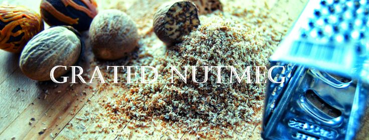Grated Nutmeg