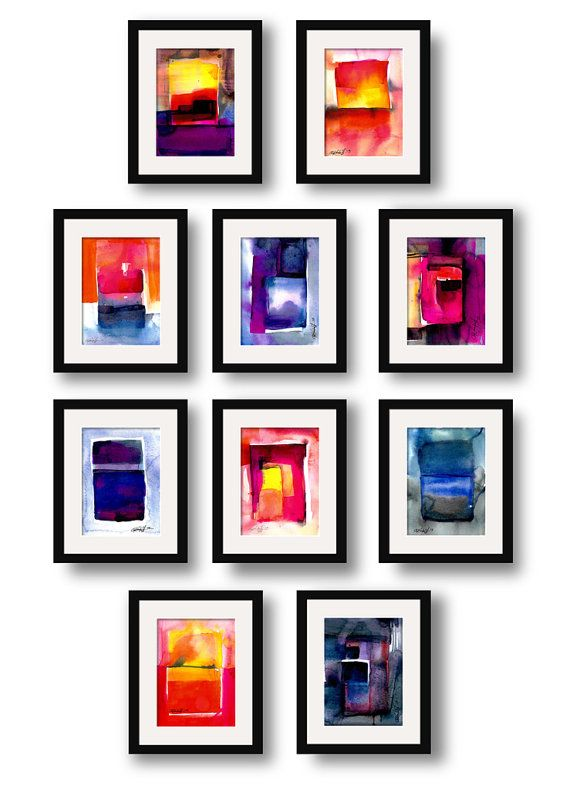 Abstraction Series . 208 ... Original by KathyMortonStanion