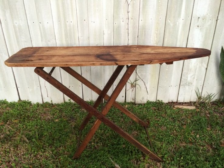 Old Wooden Ironing Board - 43 Best Antique Ironing Boards Images On Pinterest Iron Board