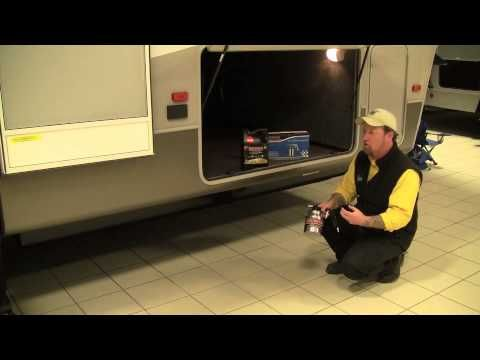 To thwart the resident field mice ▶ Mouse & Rodent-Proofing Your Camper   Pete's RV Quick Tips (CC) - YouTube